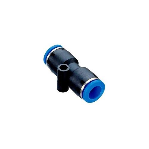 Imagem 1 de 3 de Conexão Instantânea União Reta 06mm - Kit 10 Pçs