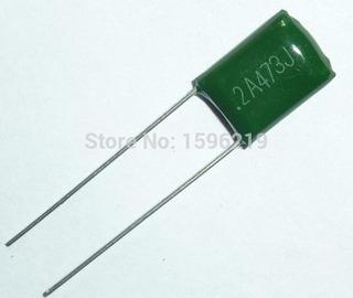 Pack X 10 Condensador 2a473j 100 V 47nf 0.047