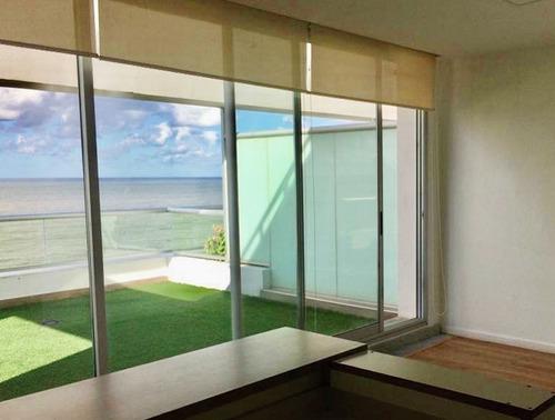 1dormitorio Zona Malvin Vista Al Mar C/parrillero