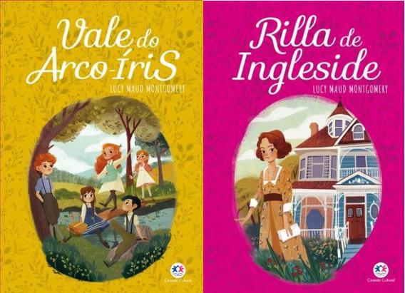 Kit 2 Livros Volumes 7 E 8 Anne With Ann E De Green Gables