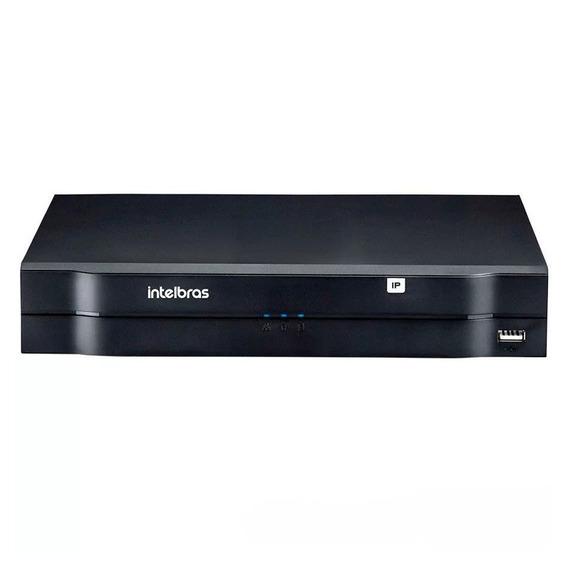 Dvr Gravador Intelbras Nvd 3108 P Ip 1080p 8 Portas Poe Full