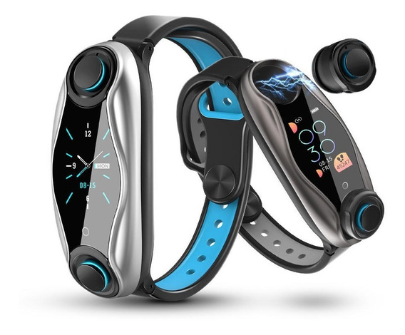 Smart Watch Con Audífonos Fralugio Para iPhone Y Android