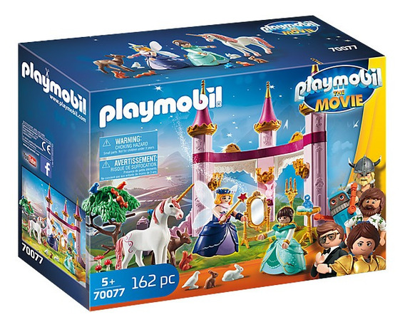 Playmobil O Filme Marla E Robotitrom Palacio De Contos 70077