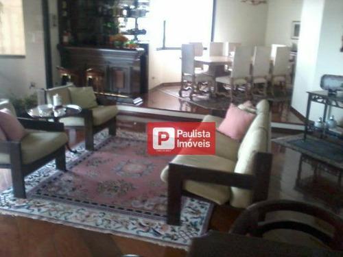 Apartamento À Venda, 280 M² Por R$ 2.300.000,00 - Campo Belo - São Paulo/sp - Ap31189