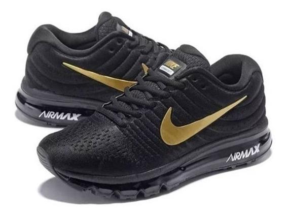 Tenis Zapatillas Nike Air Max 360 Negra Para Hombre