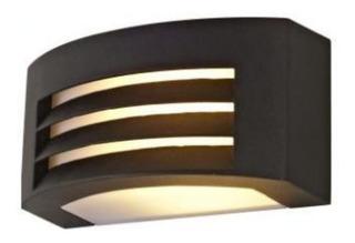 Lampara Exterior Arbotante Alum Grafito Decorativa E27 Calux