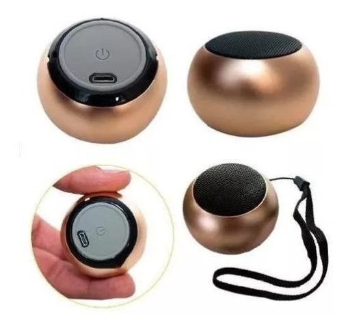 Caixinha Som Bluetooth Metal Mini Portátil Super Potente