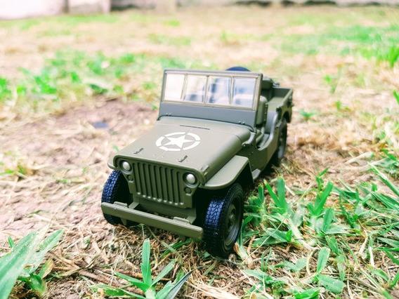 Jeep Militar Escala 1.32