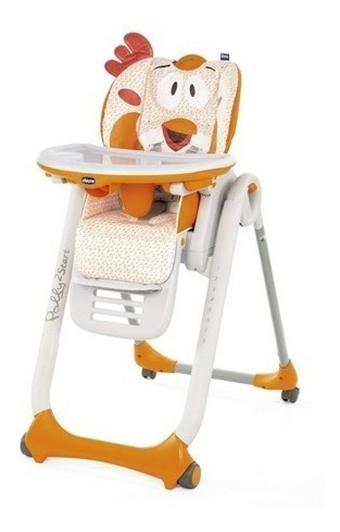 Chicco Silla De Comer Para Bebe Polly 2 Start Ultracompacta
