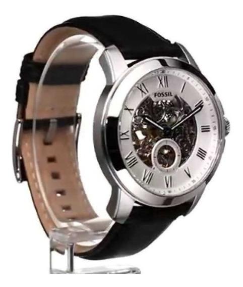 Relógio Masculino Fossil Me3053/0kn Automático Preto