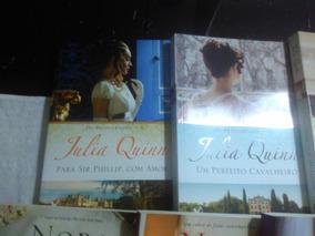 Nora Roberts E Julia Quinn Lote 7 Livros A Saber Bom Estado