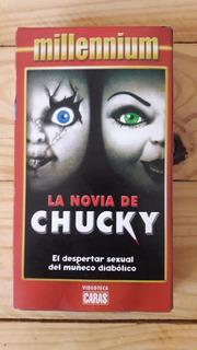 La Novia De Chucky Vhs Original Película Terror 1998