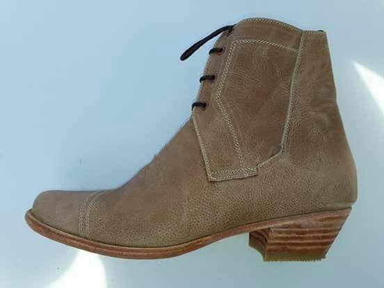 Zapatos Huaso Cuero Crudo ( Exclusivos) / Bauldeaperos