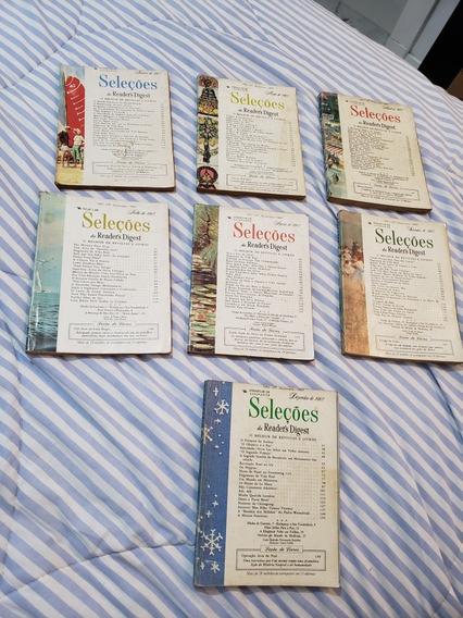 Kit 7 Revistas Seleções De 1967