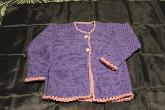 Bonito Suéter Tejido A Mano. Nuevo.