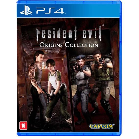 Resident Evil Origins Collection - Ps4 - Mídia Física - Novo