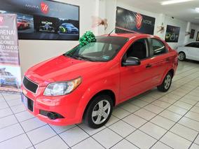 Chevrolet Aveo 1.6 Ls Aa Radio Nuevo Mt 2016