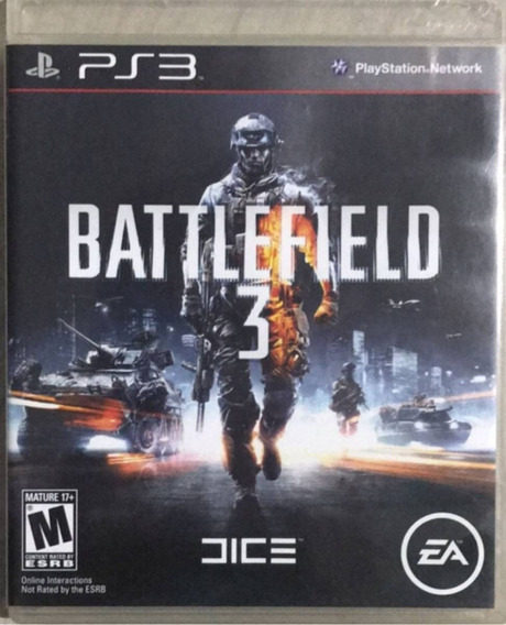 Battlefield 3 Ps3 - Midia Digital