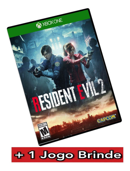 Resident Evil 2 Deluxe Remake Xbox One Digital + Brinde