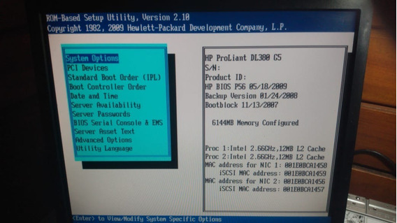 Servidor Hp Dl380 G5 Xeon Quadcore 2.66ghz 6gb Sem Hd