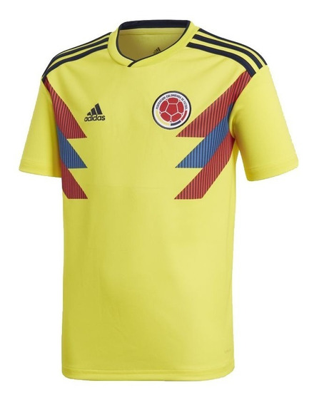 Camiseta Oficial Selección Colombia Jr adidas -tactic Sports