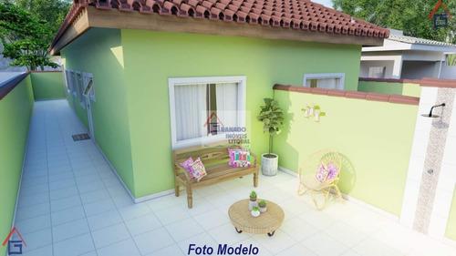 Imagem 1 de 15 de Casa Para Venda Em Itanhaém, Balneário Praia Mar, 2 Dormitórios, 1 Suíte, 1 Banheiro, 2 Vagas - 938_1-1786486