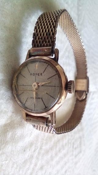 Antigüedades Reloj Royce Chapa De Oro (no Subasta)