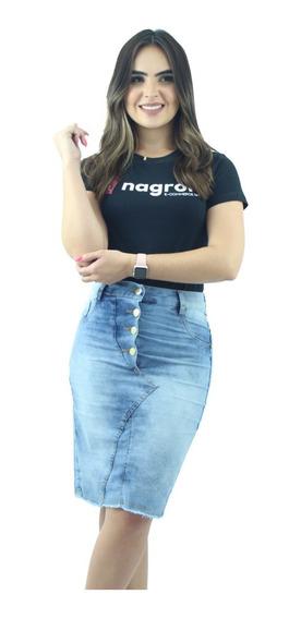 Escolha As Suas Saias Jeans Kit Com 3 Saias Jeans Evangélica