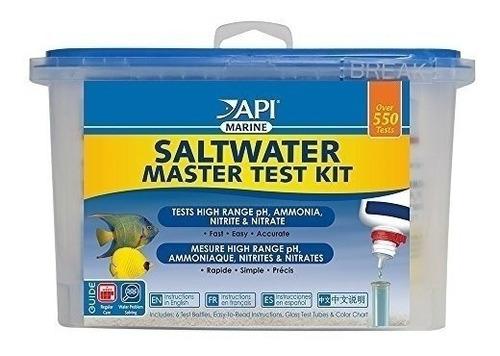 Imagen 1 de 3 de Api Saltwater Master Test Kit