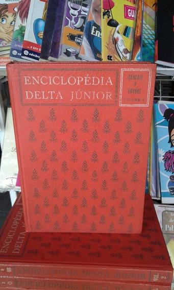 Enciclopédia Delta Junior - 12 Volumes- Raridade- +brinde