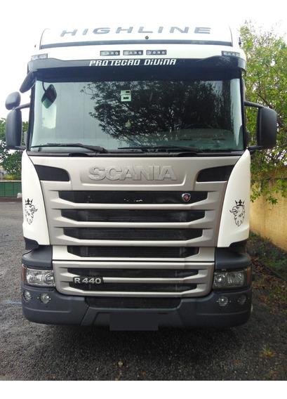 Caminhão Scania G 440 6x4 Único Dono, Conservado Ano 2014
