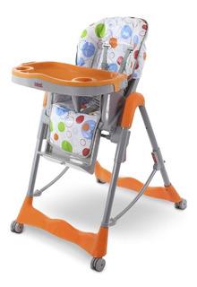 Silla Alta De Comer Descanso Para Bebes Bebesit 6670 Naranja