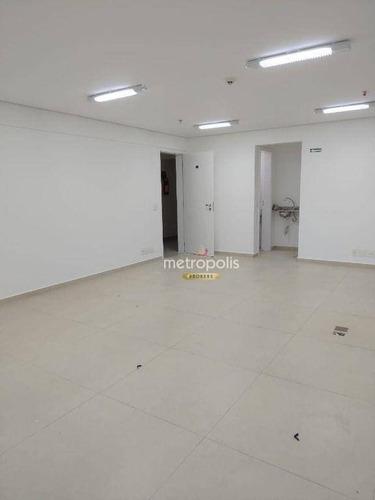 Imagem 1 de 15 de Sala Para Alugar, 44 M² Por R$ 1.400,00/mês - Centro - São Caetano Do Sul/sp - Sa0873