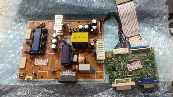 Placa Logica E Fonte Para Monitor Samsung Syncmastr 2033sw