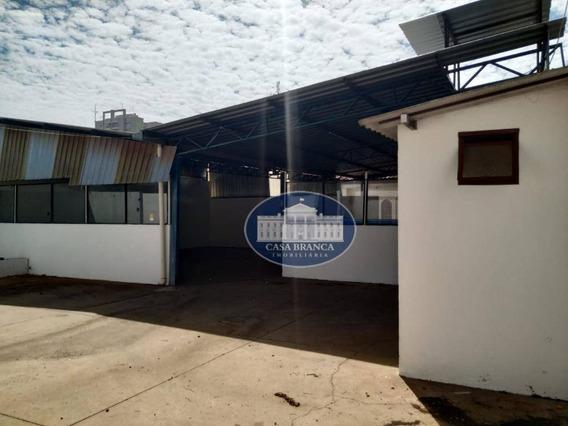 Barracão Comercial + Casa Em Localização Privilegiada! - Ba0067