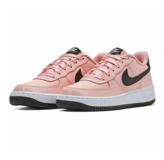Tenis Nike Air Force 1 Af1 Vday Coral Originales Nuevos Caja