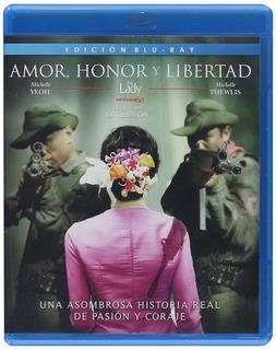 Amor, Honor Y Libertad (the Lady) Blu-ray Región A