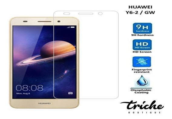Cristal Templado Mica Contra Golpes Huawei Y6-2 / Gw
