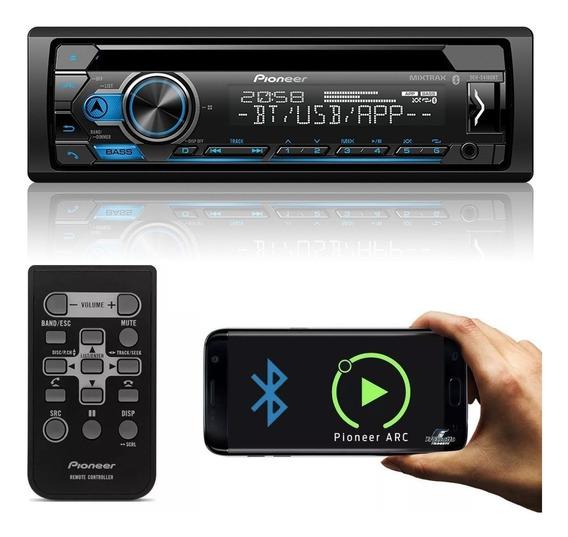 Cd Player Pioneer Deh-s4180bt Bluetooth Usb Saída Subwoofer