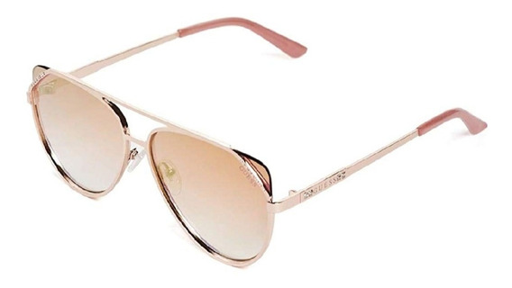 Lentes De Sol Guess Gf6071/s Rose Gold 100% Originales