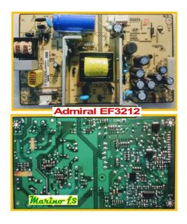 Fuente Tv Admiral Ef3212 Shg3204a-304h Ob3362 Op , Ld7750