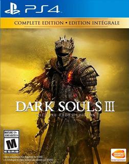 Dark Souls 3 Fire Fades / Edición Full / Juego Físico / Ps4