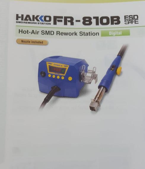 Estação Solda Retrabalho Ar Hakko Fr-810b 110v/220v