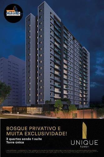 Apartamento Com 3 Dormitórios À Venda, 76 M² Por R$ 350.000 - Jardim Europa - Anápolis/go - Ap0545