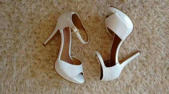 Sapatos Femininos Sandálias Salto Festa Casamento Noiva