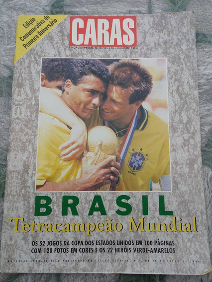 Revista Caras Brasil Tetracampeão Mundial 1994