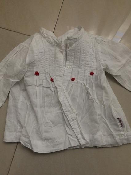 Camisa Lino piñas 12 18 meses Zara baby de segunda mano por