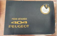 Manual Original Ilustrado 1° Edicion Peugeot 404