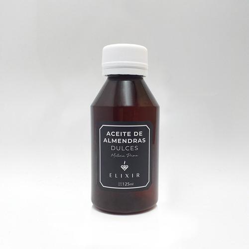 Aceite De Almendras 125ml Elixir Materia Prima Caba