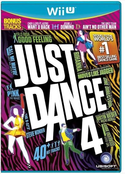 Just Dance 4 Wii U Mídia Física Novo Lacrado